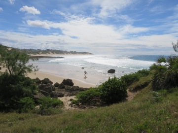 One of the greatest surfing spots on the Mozambican coast is Tofinho Point in Tofo